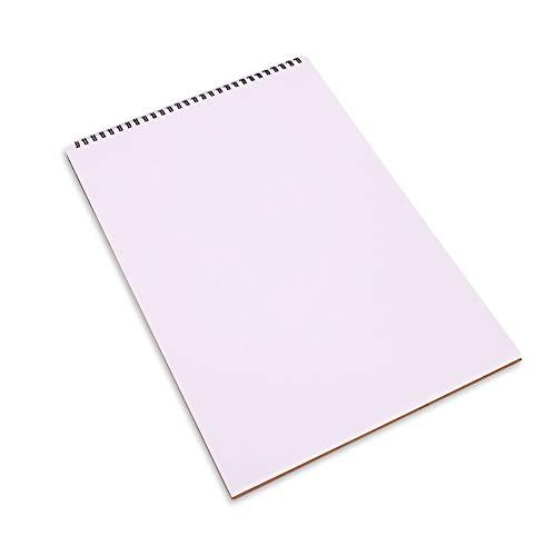 Blanko Notizbuch/Blank Notebook, Sketchpad Sketchbook hardboard Cover A4 Spiral gebundene Kunstpapier Sketchbook Feld bleedproof Zeichnung Pad Sketchbook 1pc