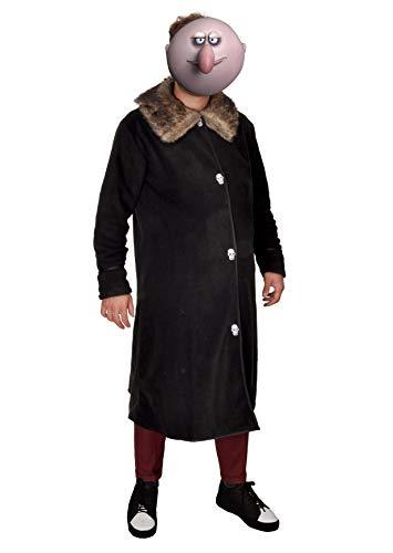 Pugsley Kostüm - Ciao-Costume Fester Addams Family, Einheitsgröße, Schwarz,