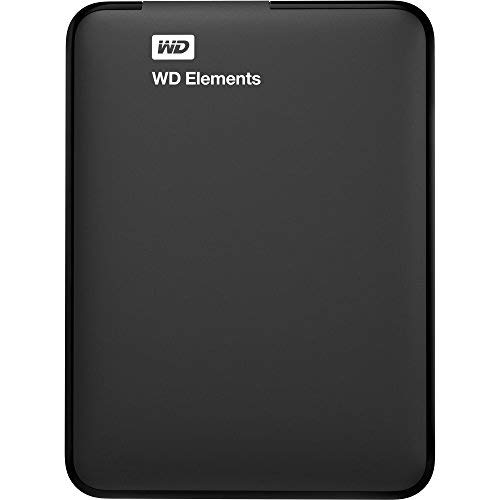Western Digital Elements WDBU6Y0020BBK-WESN Portable Hard Disk Esterno, USB 3.0, 2 TB