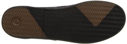 Emerica WINO FUSION 6101000088, Chaussures de skateboard mixte adulte Black/Gold