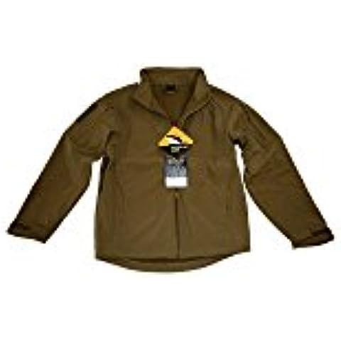 Helikon Comandante tiburón chaqueta de piel, Marrón (Coyote Brown), small