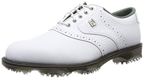 d5046dbc3d FootJoy DryJoys Tour, Zapatillas de Golf para Hombre, Blanco (Blanco 53700),