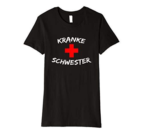 (Damen Witziges Krankenschwester Kostüm T-Shirt Für Damen Geschenk)