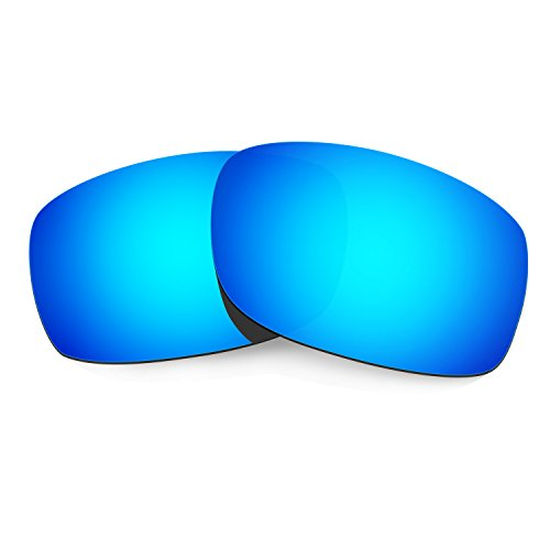 HKUCO Plus Mens Replacement Lenses For Oakley Fives Squared Sunglasses Blue Polarized