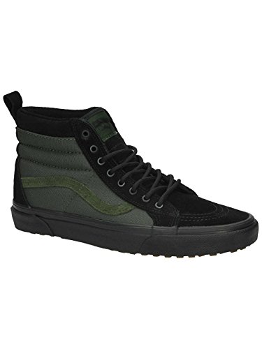Vans SK8-Hi Mte, Baskets Basses Mixte Adulte noir vert