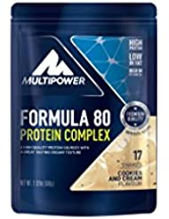 Multipower Formula 80 Protein Complex, Cookies and Cream, 510 g