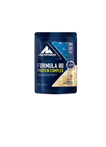 Multipower formula 80 protein complex cookies and cream 510 g