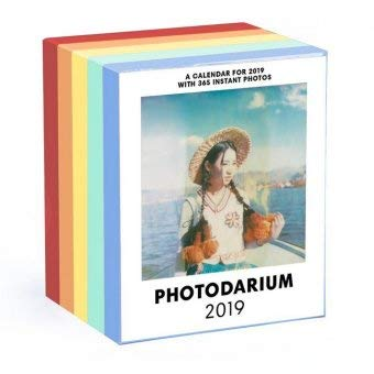 Photodarium - Kalender 2019 - Poladarium - Seltmann+Söhne-Verlag - Foto-Abreißkalender - Tagesabreißkalender mit 365 Instant-Fotos - 8,8 cm x 10,7 cm
