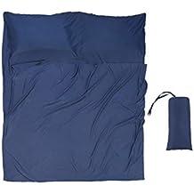 Sábana para Saco de Dormir - para Acampada y Viaje - Forro Térmico De Viajes y