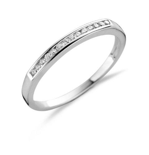 e09cbc2b7ca Miore - MSL005RO54 - Bague Femme Argent 925 1000 1.4 gr - Diamant - T