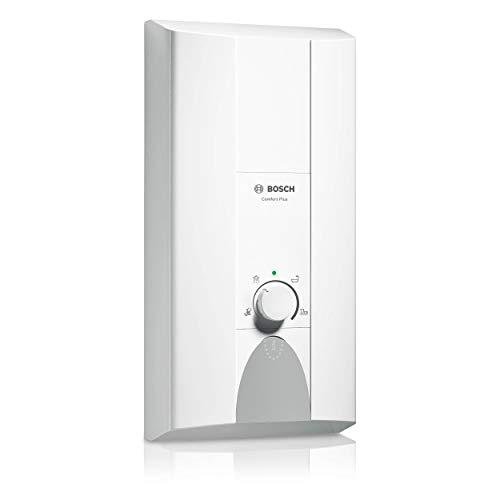 Elektronischer Durchlauferhitzer Tronic Comfort Plus 24/27 kW von BOSCH – Übertisch Warmwasserbereiter druckfest mit 2-in-1 Leistungsumschaltung und LED-Anzeige