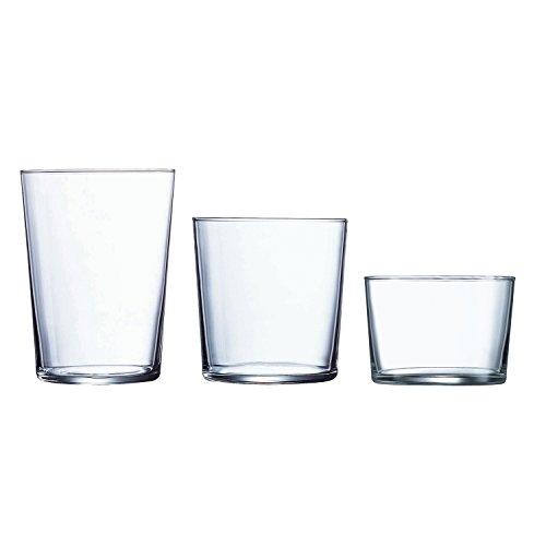 Luminarc Gorbea Juego de Vasos, Vidrio sodo, Centimeters