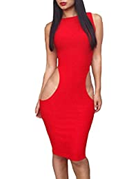 Valin femme Rouge SY6288 robe de cocktail