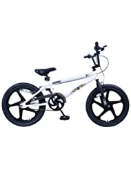Zinc columna vertebral 20pulgadas bicicleta BMX–Unisex.