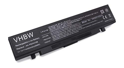 vhbw Akku passend für Samsung: X360 Serie: X360-34G, X360-34P, X360-AA02, X360-AA03 Laptop Notebook - (Li-Ion, 4400mAh, 11.1V, 48.84Wh, schwarz) 34p Pc