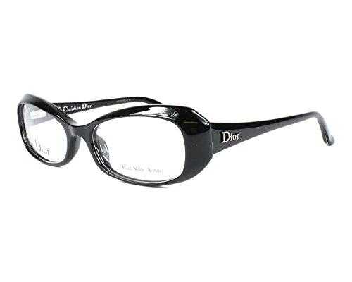 Dior Für Frau Cd3213 Black Kunststoffgestell Brillen, 52mm