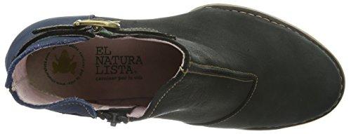 El Naturalista N472 Antique Black-Ocean / Colibri, Boots femme Noir