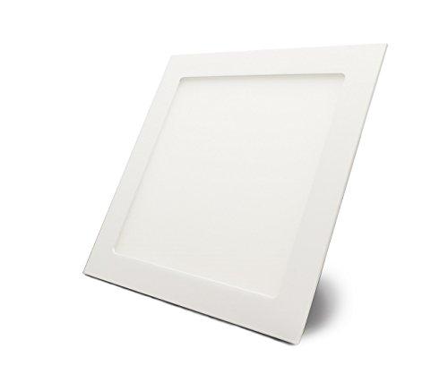 Unterputz-leuchte (LED Panel, quadratisch mit 18W Leistung, Neutralweiß - Einbau - Unterputz ECONOMY)