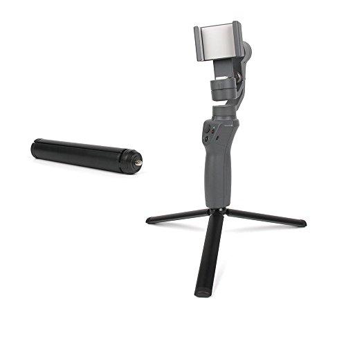 Tineer 2 in 1 Extension bar Stick Handheld Gimbal Stabilisator Tragbare Klappstativ für DJI OSMO Mobile 2 / Zhiyun Glatte 4 Kamera -