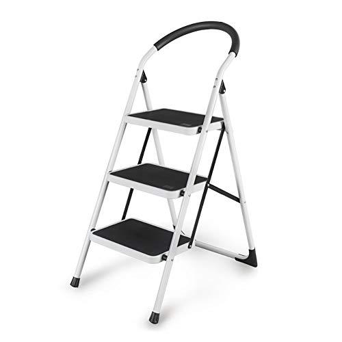Ladder - Trittleiter/Portable Klappleiter, Rolltreppen Innentreppen, Tritthocker Verdickung (Size : 3 steps)