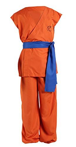 Dbz Erwachsene Für Kostüm - CHIUS Cosplay Costume Training Uniform for Kakarot Son Goku with Shoes Ver 4S
