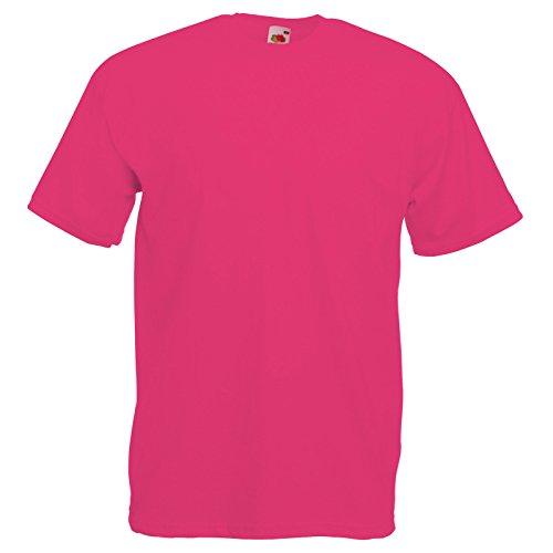Fruit of the Loom tee Valueweight Fuchsia