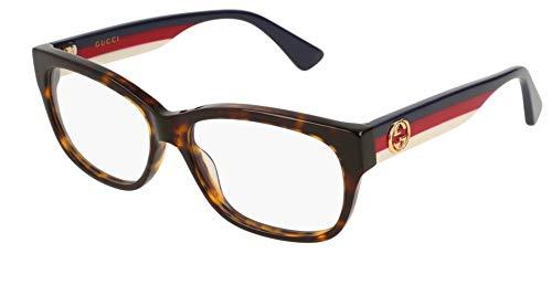 Gucci Damen Brillengestell Havana Frau