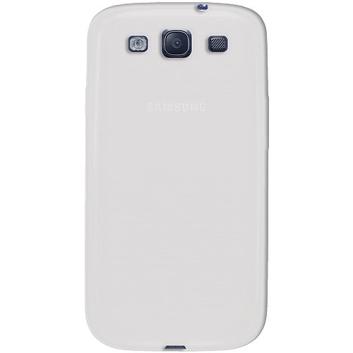 Amzer AMZ93952 Skin Jelly Case for Samsung Galaxy S3 Neo and S III GT-I9300 (Transparent White)  available at amazon for Rs.239