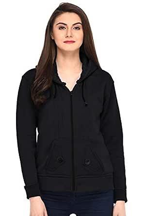 Fasnoya Women Sweatshirt wss104sq-xs_Black # 2_X-Small