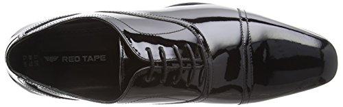 Red Tape Wooton, Chaussures à Lacets Homme Noir (noir)