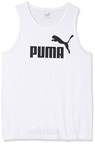 Puma Erwachsene ESS No.1 Tank Tanktop White, XXL