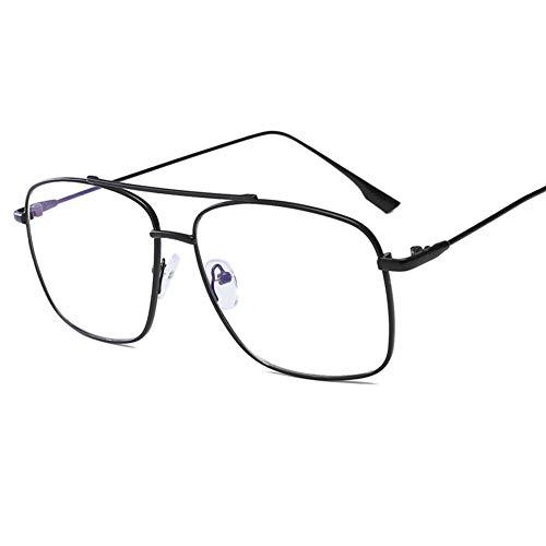 Blau lichtundurchlässige Brille Modedesigner Metall Rahmen der optischen Gläser Anti-Blau-Licht für Computer-und GamingGlasses Augen Männer/Frauen Anti Überanstrengung der Augen-2
