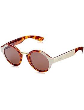 MR.BOHO, Cream/leo tortoise jordaan with classical lenses - Gafas De Sol unisex multicolor (carey/crema), talla...