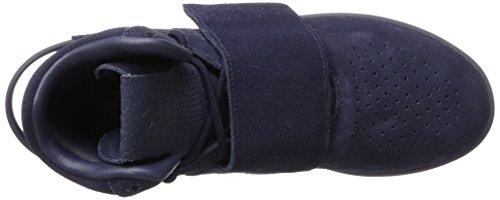 adidas Tubular Invader Strap, Scarpe Sportive Uomo Blu (Trace Blue/footwear White)