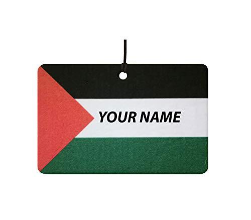 Deodorante per Auto Personalizzato con La Bandiera Palestine F