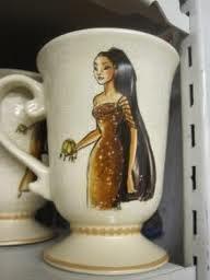 ve Classic Designer Princess Doll Set Princess Pocahontas MUG by Disney ()