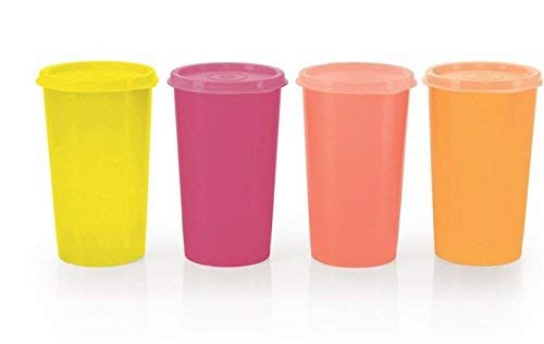 Frigidaire Glas (Tupperware Rainbow Tumblers (set of 4) 340 ml by Tupperware)