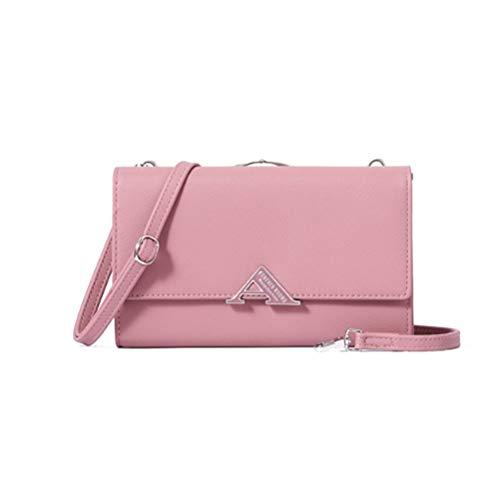 LNNL Ladies Neue Kupplungsbeutel Messenger Tasche Multi -Funktion Schultertasche Weibliche Koreanische Mode Tasche