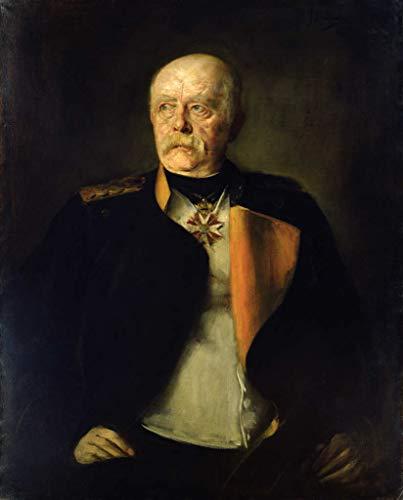 """Kunstdruck/Poster: Franz Seraph von Lenbach Otto von Bismarck c 1890"""" - hochwertiger Druck, Bild, Kunstposter, 40x50 cm"""