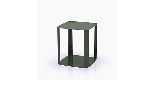 Tavolino da salotto moderno offset colore zucca ral