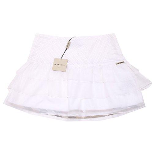 0118I gonna bimba BURBERRY cotone seta gonne skirts kids [10 ANNI]