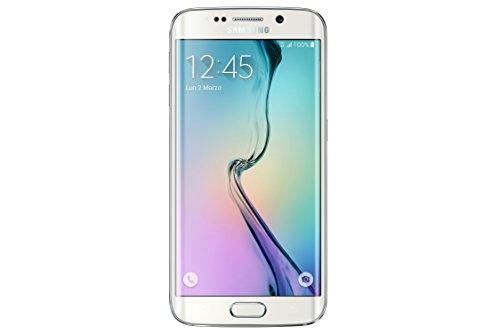 Samsung G925 Galaxy S6 edge Smartphone, 64 GB, Bianco [Italia]