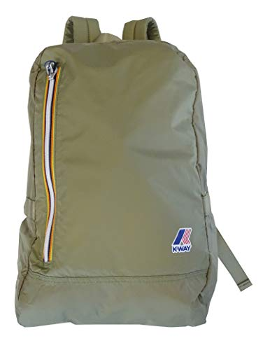 K-Way Zaino Uomo Donna K-Pocket Backpack Men Woman 4BKK1317-KHAKI