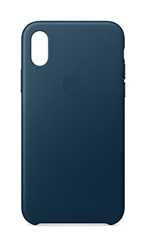 apple leder case, für iphone x, kosmosblau - 31Pe9OnaPSL - Apple Leder Case, für iPhone X, kosmosblau