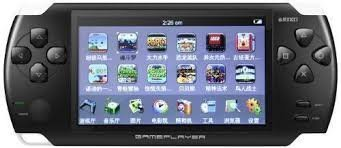 """PSP PMP MEDIA MP5 PLAYER /4.3"""" SCREEN / INBUILT GAMES WITH FREE 8GB MEMORY CARD BY AE ZONE"""
