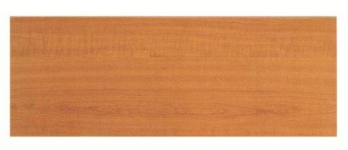 Mensola decorlegno legno euro 60x20x1,9 f.10 bianca [decorlegno]