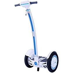 Run & Roll Easy GO - Monociclo Segway, Color Blanco