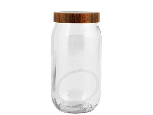 H+H 9119010Dose, Glas/Kunststoff, Transparent/Braun