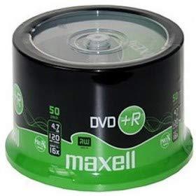Maxell dvd+r 4.7gb, 16x - confezione da 50