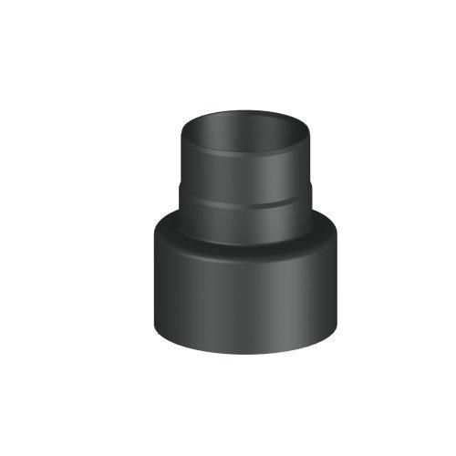 Ofenrohr/ Rauchrohr/ Reduzierung Ø 180-130mm, lackiert (Zubehör Ofenrohr)